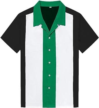 EKU 50s - Vestido de Bolos para Hombre, Estilo Rockabilly: Amazon.es: Ropa y accesorios