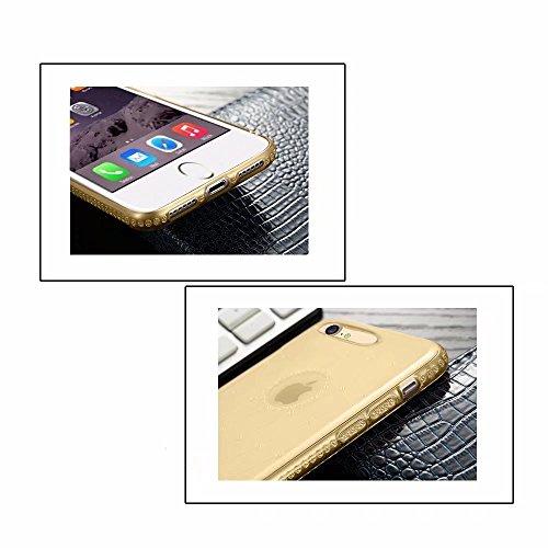 Silicona Cover Suave Carcasa 6S 6S MingKun 7 6 Transparente Bling TPU iPhone iPhone iPhone Pulgada para 4 3 Funda Fundas BRZw4