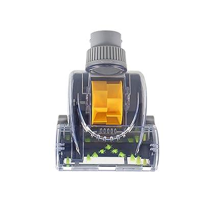 ZREAL Accesorios para aspiradora Cepillo Turbo Cepillo para Eliminar los ácaros Limpieza Profunda Turbo Head