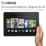Fire HDX 8.9, 8.9″ HDX Display, Wi-Fi and 4G LTE, 64 GB – (Unlocked GSM)