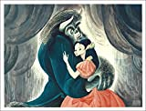 Al Hirschfeld's BEAUTY AND THE BEAST Hand Signed