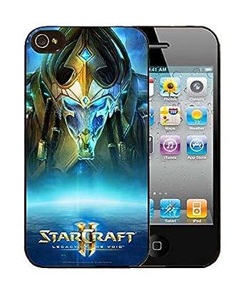 3c1061fd613 StarCraft iphone 4/4s Caso, personalizadas patrón impreso Funda para iphone  4 4s para