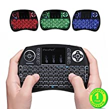 IPazzPort Mini Wireless Touch Keyboard Handheld Remote