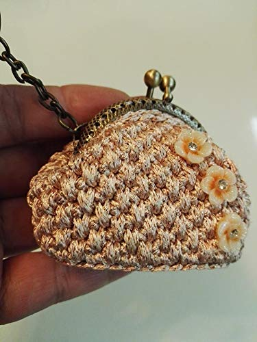 Portachiavi Donna Con Portamonete Alluncinetto Amazonit Handmade