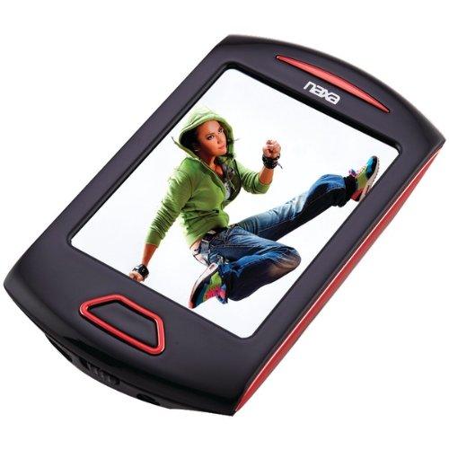 NAXNMV179RD - NAXA NMV179RD 4GB 2.8 Touchscreen Portable Media Player (Red)