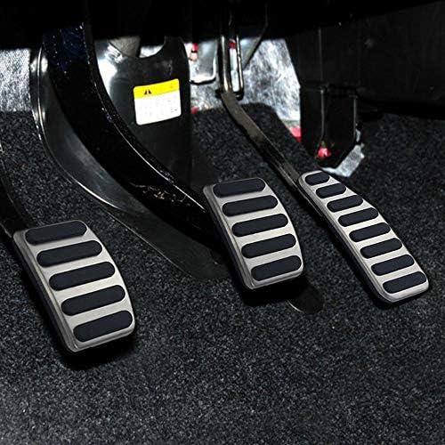 zxhLSA Pedaliera per Auto Antiscivolo Pedale dellacceleratore Copertura del Pedale in Metallo per Auto per Suzuki Swift Sport Ignis Alto Grand Vitara 2005-2019 Jimmy 2018-2020