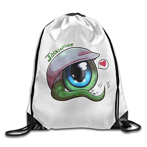 Review Jacksepticeye Backpack Sport Bag