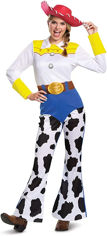 Disneyland Jessie Toy Story Women/'s White Vest Top