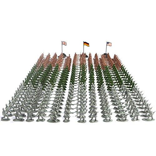 RAINBOW TOYFROG Bucket Soldiers WWII Over Piece