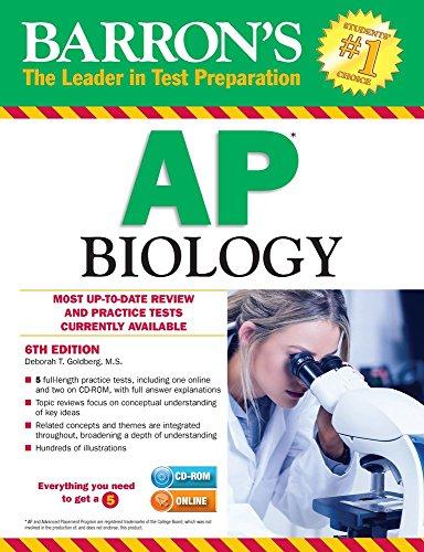 Barron's AP Biology with CD-ROM (Barron's Ap Biology (Book & CD-Rom))