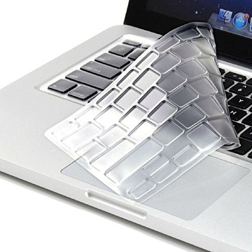 Leze - Ultra Thin Keyboard Skin Cover for 15.6