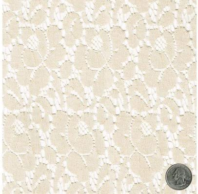 25 Wide Antique Style Lace Ivory Cream Lace Edwardian Style Lace Wedding Lace Antique Wedding Bridal Lace Formal Fabric Sequined Lace JM13