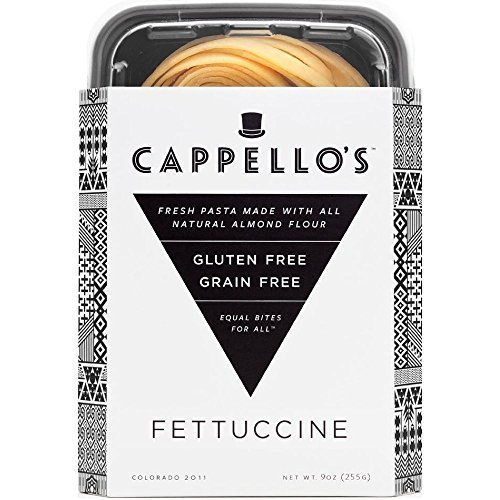 Cappello's Gluten-Free Fettuccine - 9 Ounces (Pack of 6) by Cappello's