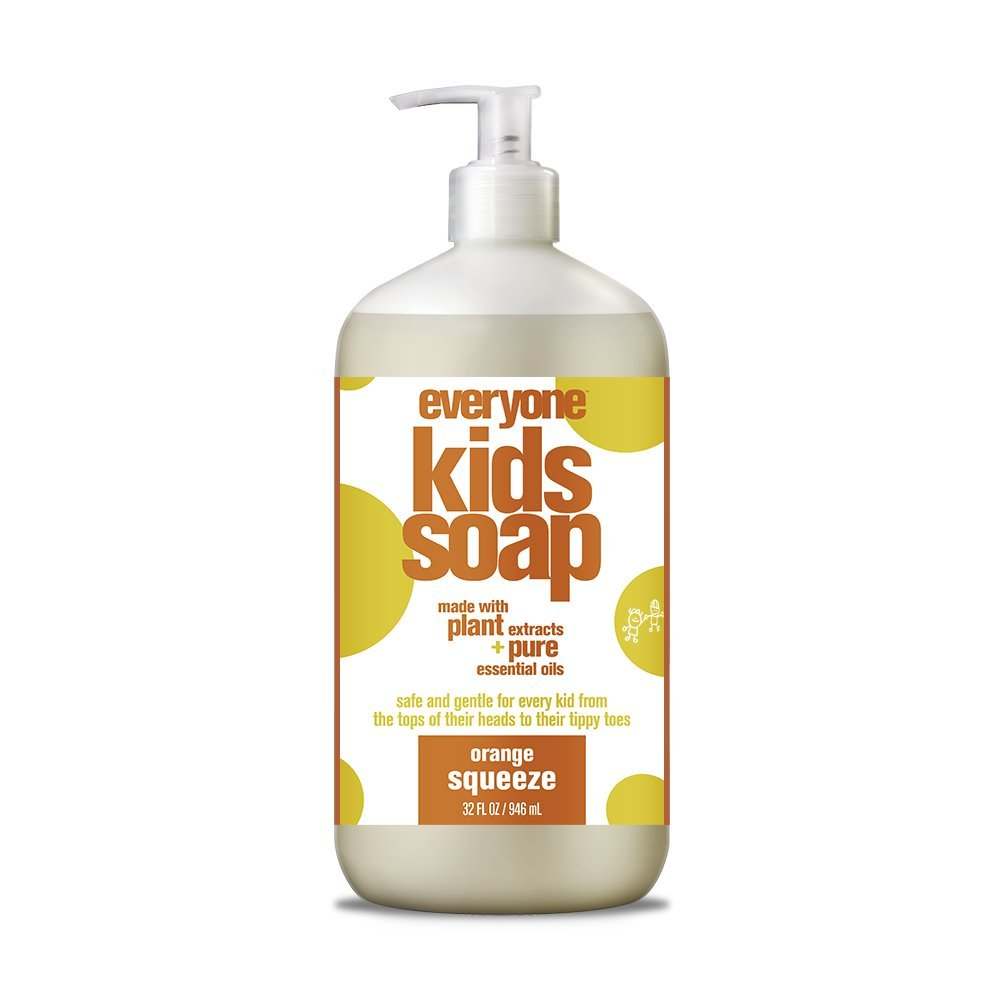 Everyone Soap for Every Kid, Orange Squeeze, 32 Ounce 220024