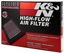 K&N 33-2975 Filtro de Aire Coche, Lavable y Reutilizable