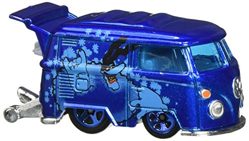 2016 Collectors - Hot Wheels 2016 The Beatles 50th Anniversary Yellow Submarine Kool Koombi 6/6, Blue