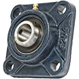 "3/4"" Mounted Bearing UCF204-12 + Square Flanged Cast Housing"