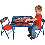 Big Lots Bar Stools Disney Cars Hometown Heroes Kids 3-Piece Activity and Play Folding Table and Chair Set