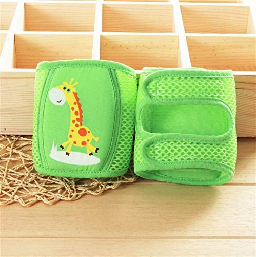 Gold Happy Pair Lytwtw's Kids Cartoon Crawling Elbow Infants Toddlers Baby Knee Pads Protector Safety Mesh Kneepad Leg Warmer Children