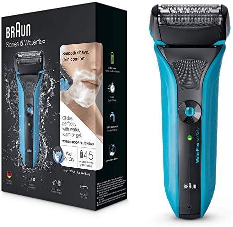 Braun WaterFlex WF2s eléctrico del hombre Foil máquina de afeitar ...