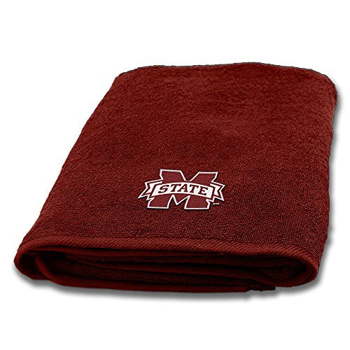 Northwest COL 929 Mississippi State Bulldogs NCAA Applique Bath Towel