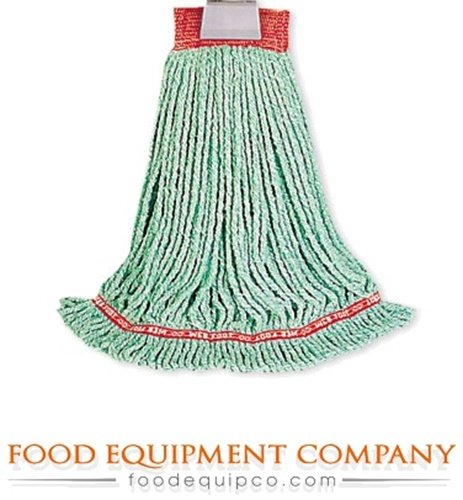 - Rubbermaid FGA25306BL00 Wet Mop Head Web Foot Wet Mop large 4-ply cotton/synthe
