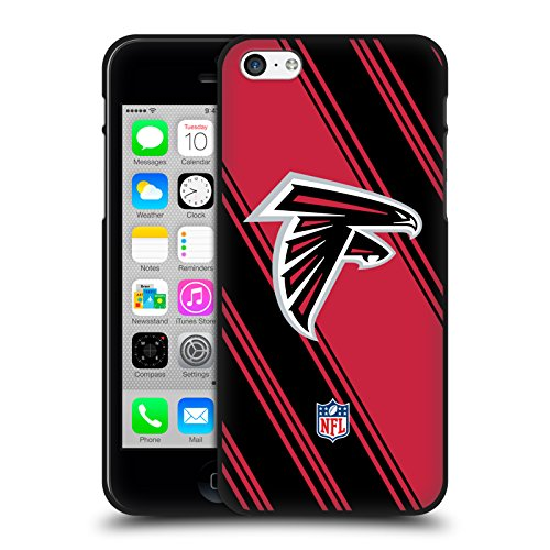 Official NFL Stripes 2017/18 Atlanta Falcons Black Soft Gel
