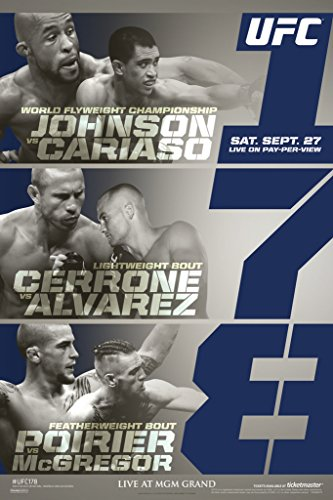 Pyramid America Official UFC 178 Demetrious Johnson for sale  Delivered anywhere in USA