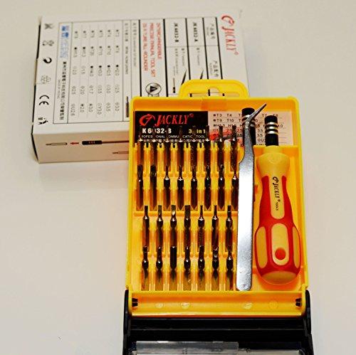 33 in 1 Screwdriver Set PC Hard Drive Printer Xbox 360 Shaver Repair Kit Tool 【Storm Buy】 (Printer Repair Kit compare prices)