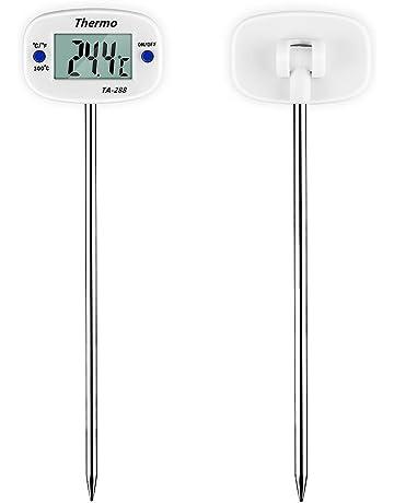 LIUYUNE,Prueba de Temperatura líquida de la sonda de Acero Inoxidable, termómetro Digital para