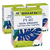 Tampax Pure Organic Tampons, Cotton