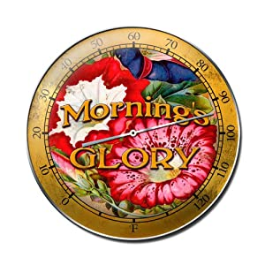 Morning Glory Retro Metal Sign