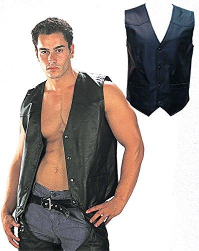 Leather Riding Vest - 5