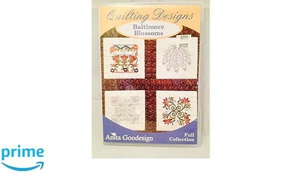 Amazoncom Anita Goodesign Quilting Designs Full Collection