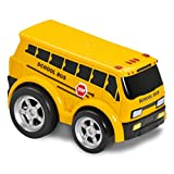 Kid Galaxy Soft and Squeezable Pull Back School Bus