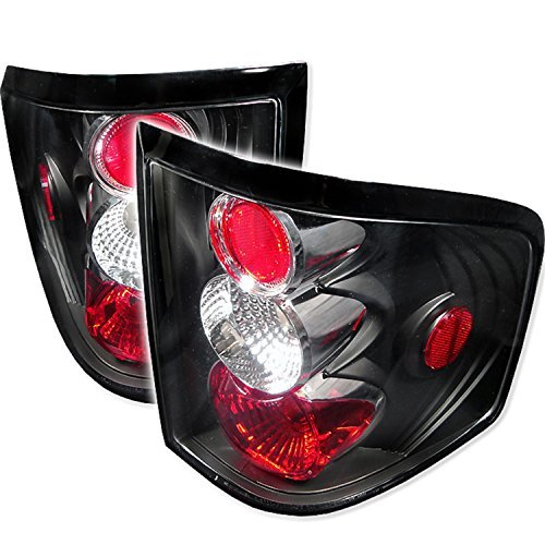 Auto Flareside (Spyder Auto Ford F150 Flareside Black Altezza Tail Light by Spyder Auto)