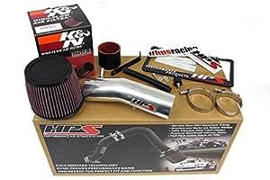 03-07 Honda Accord 3.0L V6 HPS Shortram Air Intake Kit + K&N Filter Short Ram Cool
