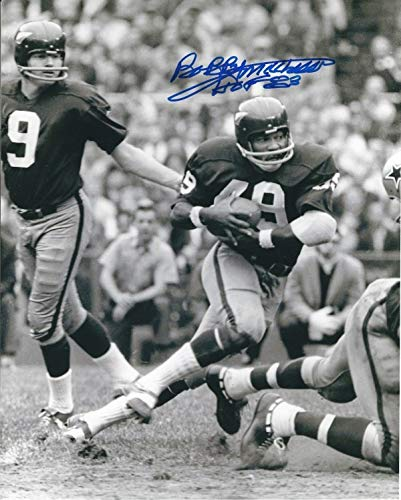 (Autographed Signed Bobby Mitchell 8x10 Washington Redskins Photo - Certified Authentic )