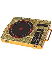 Induction Cooker 3500 Watt,Electric Single Burner,Portable Ceramic Cooker Countertop Burner,Hot Plate with Timer Temperature Control, Smart Touch Sensor Electric Stove Glass Plate Cooktops