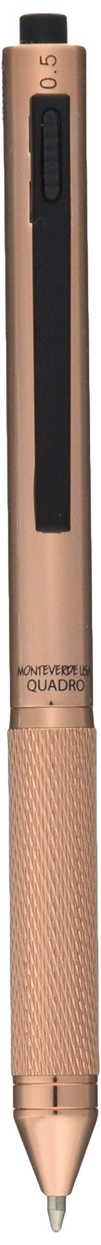 MONTEVERDE USA Quadro 4-in-1 Multifunction Pen Copper (MV35513)