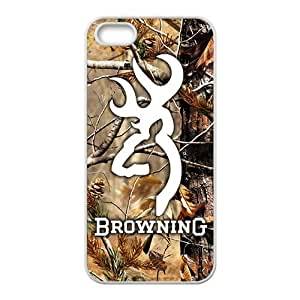 SKULL Browning Cell Phone Case for Iphone 5s