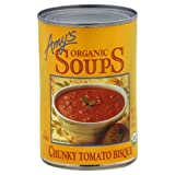 Amy's Organic Chunky Tomato Bisque, 14.5-Ounce Cans ( Value Bulk Multi-pack)(Pack of 72)