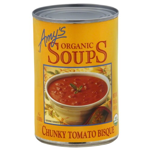 Organic Chunky Tomato Bisque - Amy's Organic Chunky Tomato Bisque, 14.5-Ounce Cans (Pack of 3)