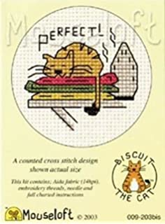 Moi? Biscuit the Cat X Stitch Kit by Mouseloft