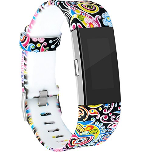 RedTaro for Fitbit Charge 2 Bands, Replacement Accessory Wristbands