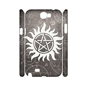 Chinese Supernatural Personalized 3D Cover Case for Samsung Galaxy Note 2 N7100,custom Chinese Supernatural Case