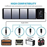 Paxcess Foldable 50W Solar Panel Charger for Suaoki Portable Generator / Goal Zero Yeti 100/150/400 Power Station / Paxcess Battery Pack / USB Devices, with 3 USB Ports