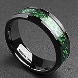 King Will DRAGON 5mm Green Carbon Fiber Black