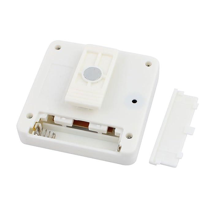 Amazon.com: eDealMax 2pcs cronómetro digital de cocina dígitos grandes fuerte alarma Soporte magnético y soporte retráctil Blanca: Kitchen & Dining