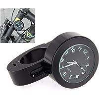 Pandamama Useful Waterproof Motorcycle Motorbike Handlebar Mount Round Dial Clock Accessory Universal Handlebar Mount Clock
